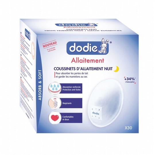 Dodie Coussinets d'allaitement nuit x 30