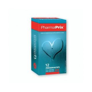 PharmaPrix 12 Préservatifs lubrifiés