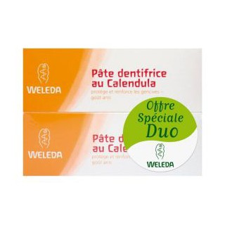 Weleda Dentifrice Calendula 75ml DUO