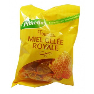 Pimélia Royal Jelly filled candies Honey 100gr