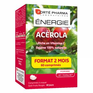 Forte Pharma Energie Acerola 60 comprimés