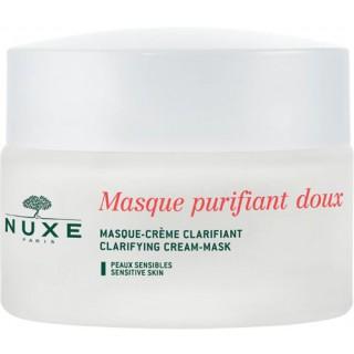 Nuxe Masque purifiant doux aux petales de rose 50ml