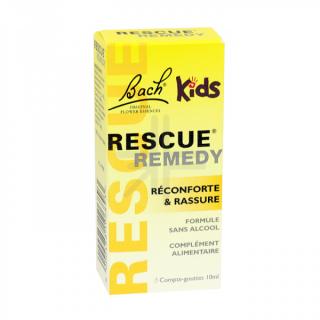 Fleur de Bach Rescue kids compte goutte 10 ml