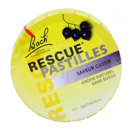 Rescue pastilles cassis 50g