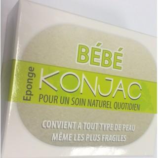 Eponge Bébé Konjac