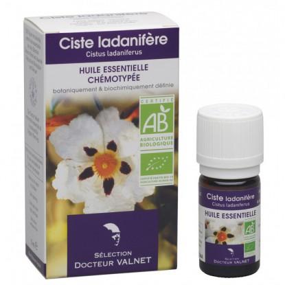 Valnet Cistus Organic Essential Oil 5ml