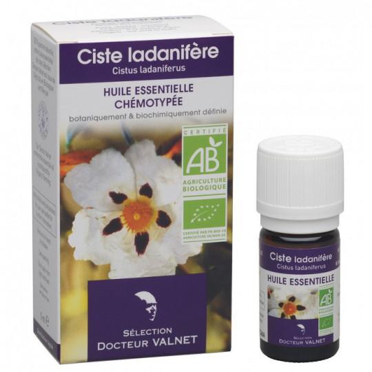 ciste huile essentielle bio Valnet 5ml
