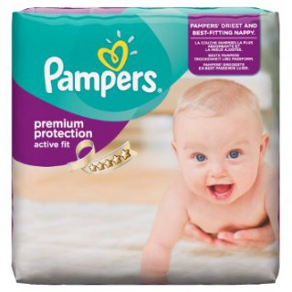 Pampers Active Fit Size 3 28 diapers pack