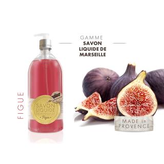 Les Petits Bains de Provence Savon Figue 1 L