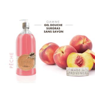 Les Petits Bains de Provence Savon Peche 1L