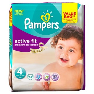 Pampers Active Fit 7-18kg 22 units