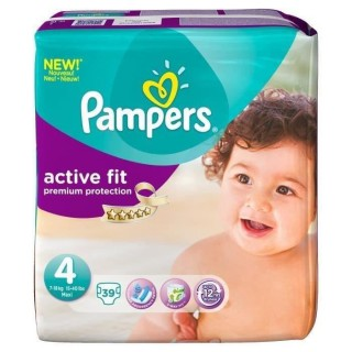 Pampers age 4 Active premium 7-18kg