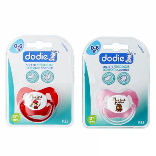 "Dodie Sucette 0-6m ""princesse"" p33"