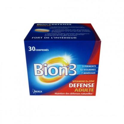 Bion 3 Defense adultes 30 comprimés