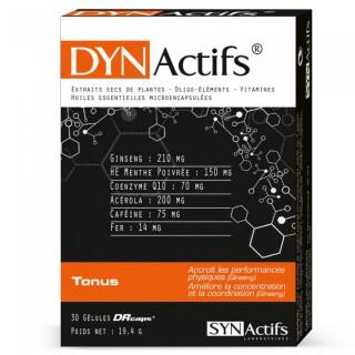 Synactifs DYN Actifs Tonus 30 Gélules