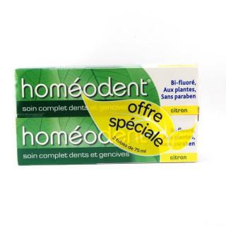 Homeodent dentifrice citron DUO