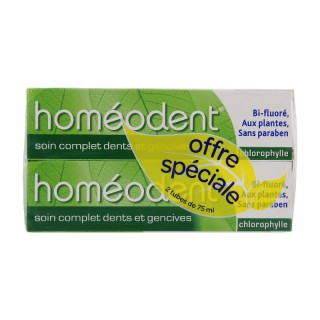 Homeodent dentifrice Chlorophylle DUO