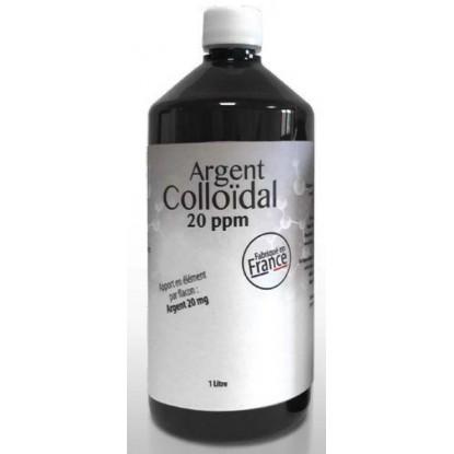 Argent Colloïdal 20 ppm 1 Litre