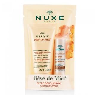 Nuxe Rêve de Miel Crème Mains + Stick Lèvres