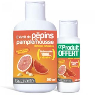 Extrait Pépins de Pamplemousse Nutri santé 200ml + 50ml offert