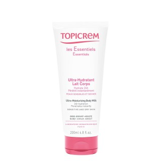 Topicrem Ultra-Hydratant Lait Corps 200ml