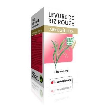 Arkogelules levure de riz rouge 45 gelules