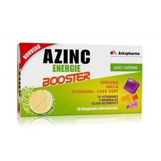 Azinc Energie Booster 20 comprimés