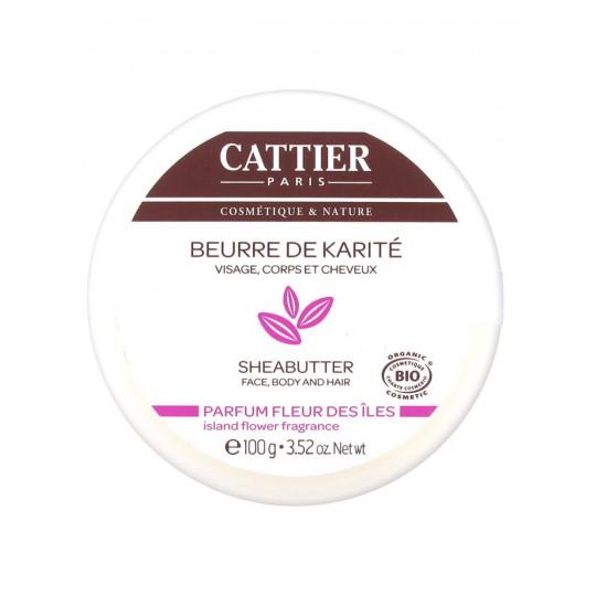 Cattier Beurre de Karité Parfum des iles