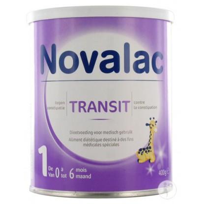 NOVALAC TRANSIT+ 1AGE LAIT 800G