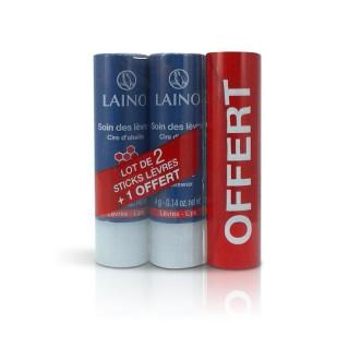 Laino Lot 2 sticks lèvres pro intense+1offert