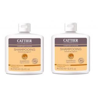 Cattier Shampoo Yogourt DUO 250ml