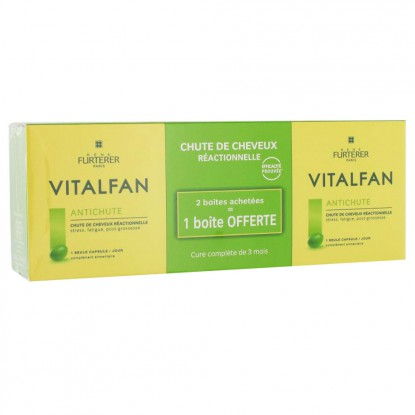 René Furterer Vitalfan Hair-loss Reaction 90 tabs