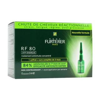 René Furterer RF 80 Coffret Concentré Anti Chute 12 Ampoules