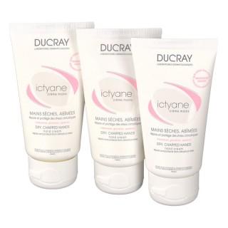 Ducray Ictyane crème mains LOT 3