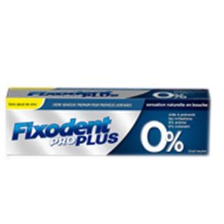 Fixodent Pro Plus 0% creme adhesive 40g