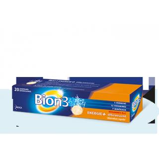 Bion Energie Plus effervescent 20 comprimés