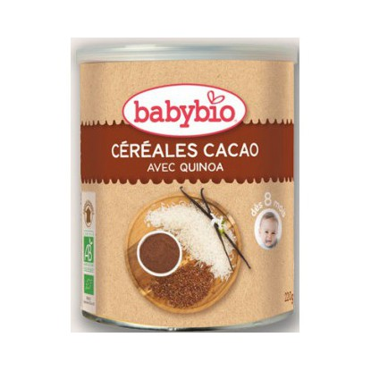 BABYBIO chocolate Cereales
