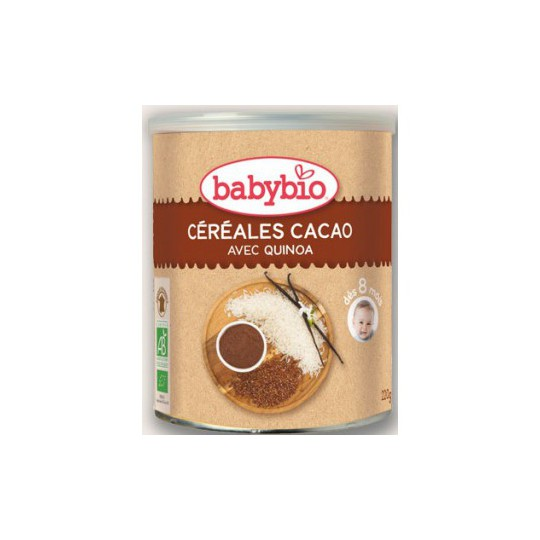 BABYBIO Céréales chocolat 220g