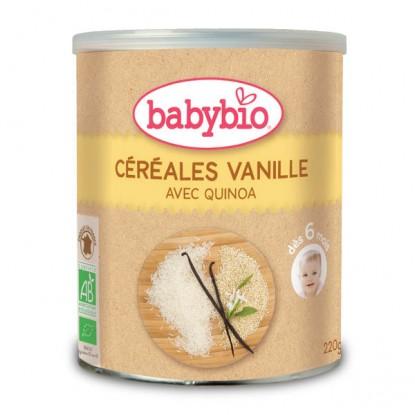 BABYBIO Céréales vanilles