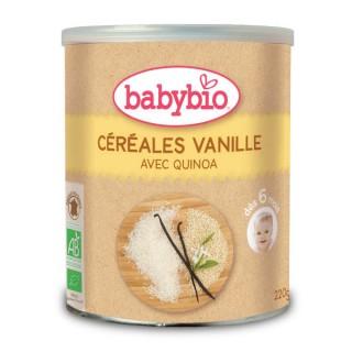 BABYBIO Céréales vanilles 220g