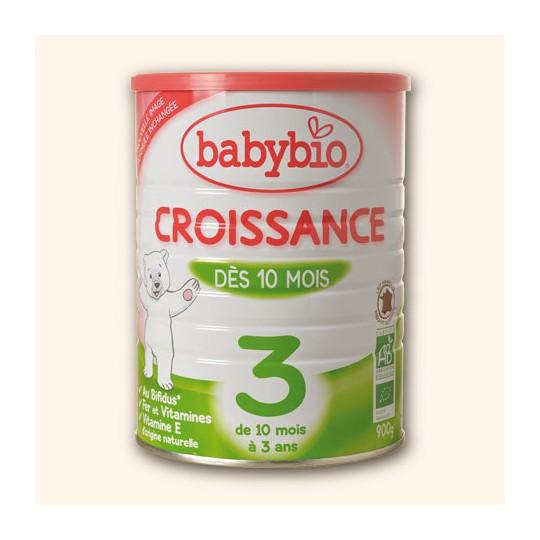 BABYBIO Croissance LAIT PDR BT900G