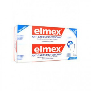 Elmex Dentifrice anti caries x 2