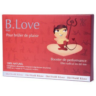 Diet World B.Love homme 3 sachets