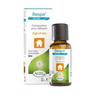 Le Comptoir Aroma Respir' Air Pur Agrumes 30 ml