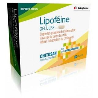 Lipofeine Chitosan Capteur De Graisses  bte 60 gélules