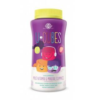 Solgar U-Cubes Multi vitamines Enfants120gommes