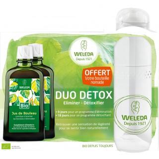 Weleda Coffret Duo Detox 200ml + Bouteille  offerte