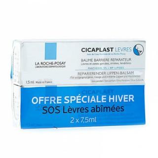 La Roche-Posay Cicaplast Baume Lèvre 2x 7.5ml