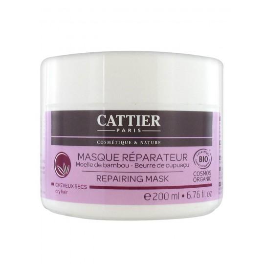 Cattier Masque réparateur Bambou cheveux secs 200ml