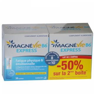 Magnevie B6 Express 2 x 30 sachets